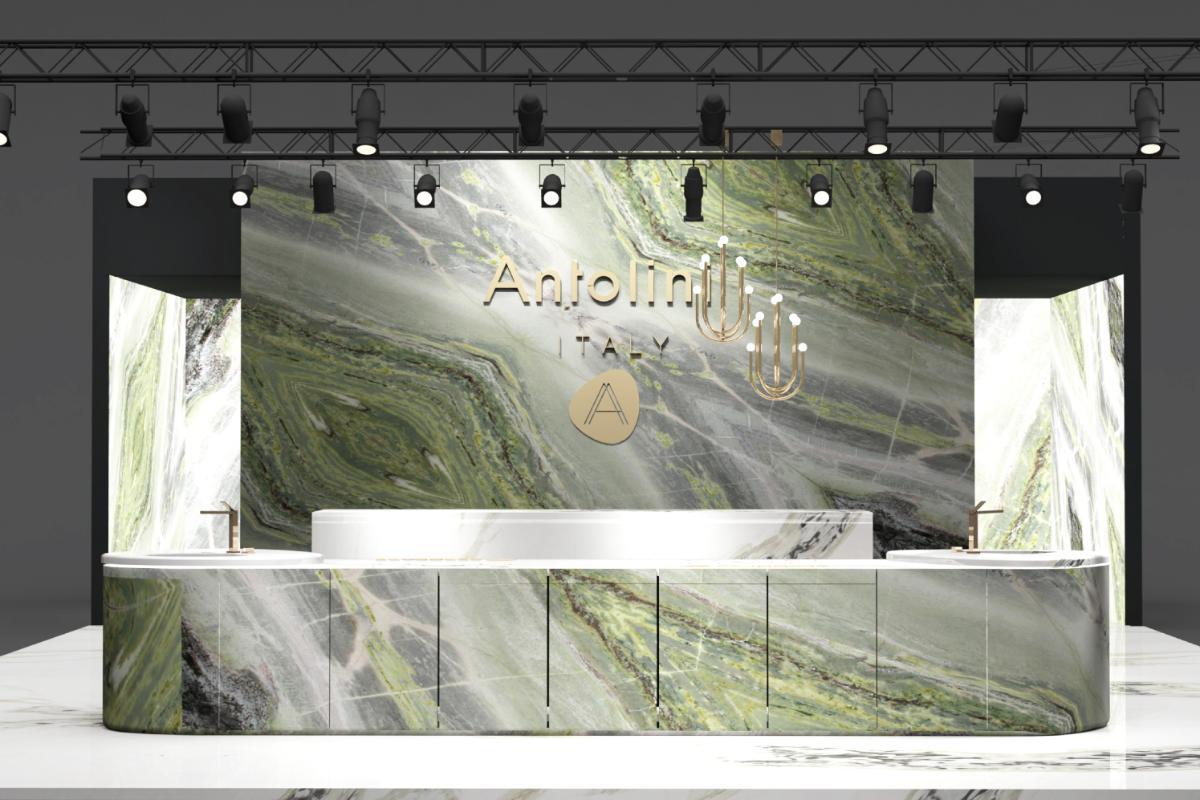 antolini en kbis 2020 un escenario natural con forma de mrmol