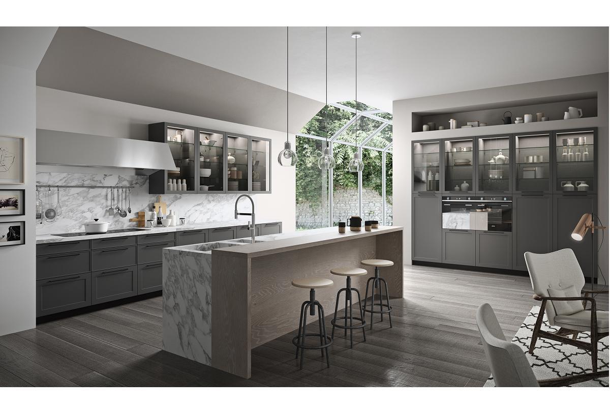 aran cucine rinde homenaje al estilo italiano multifactico con vita bella