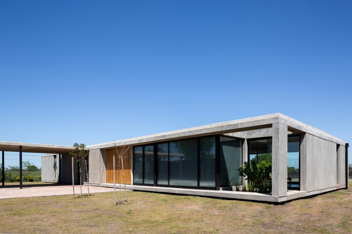 casa la caada una vivienda moderna de planta nica y de aire puro