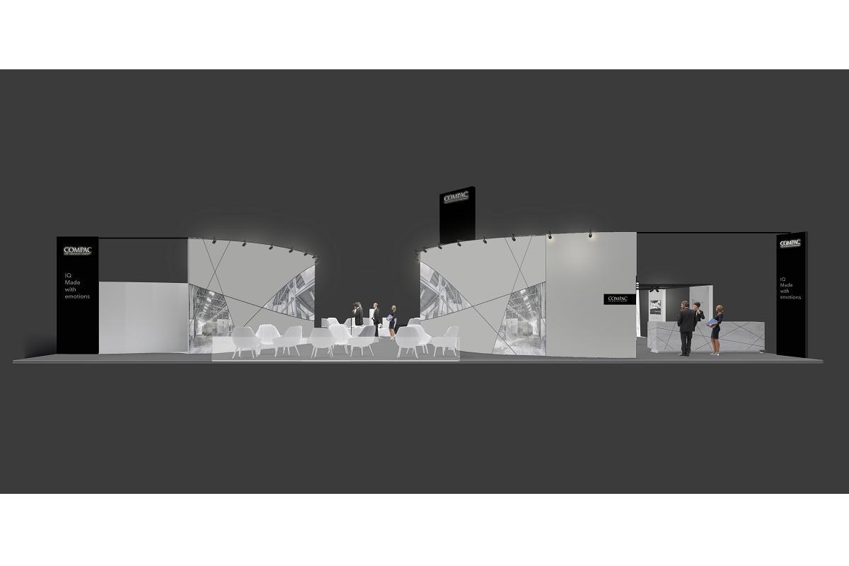 compac en kbis 2020 un stand de 400m2 e innovadores diseos de arik levy