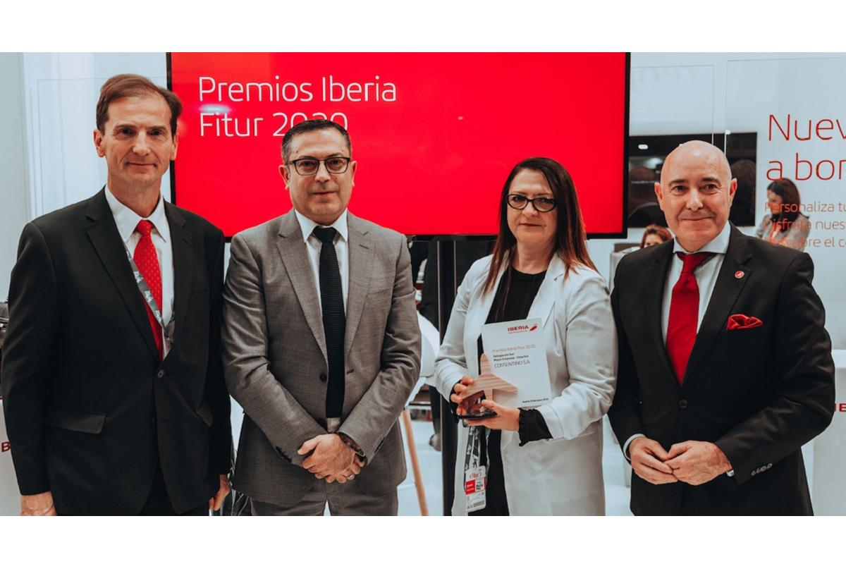 cosentino reconocida como mejor empresa de la delegacin sur por iberia