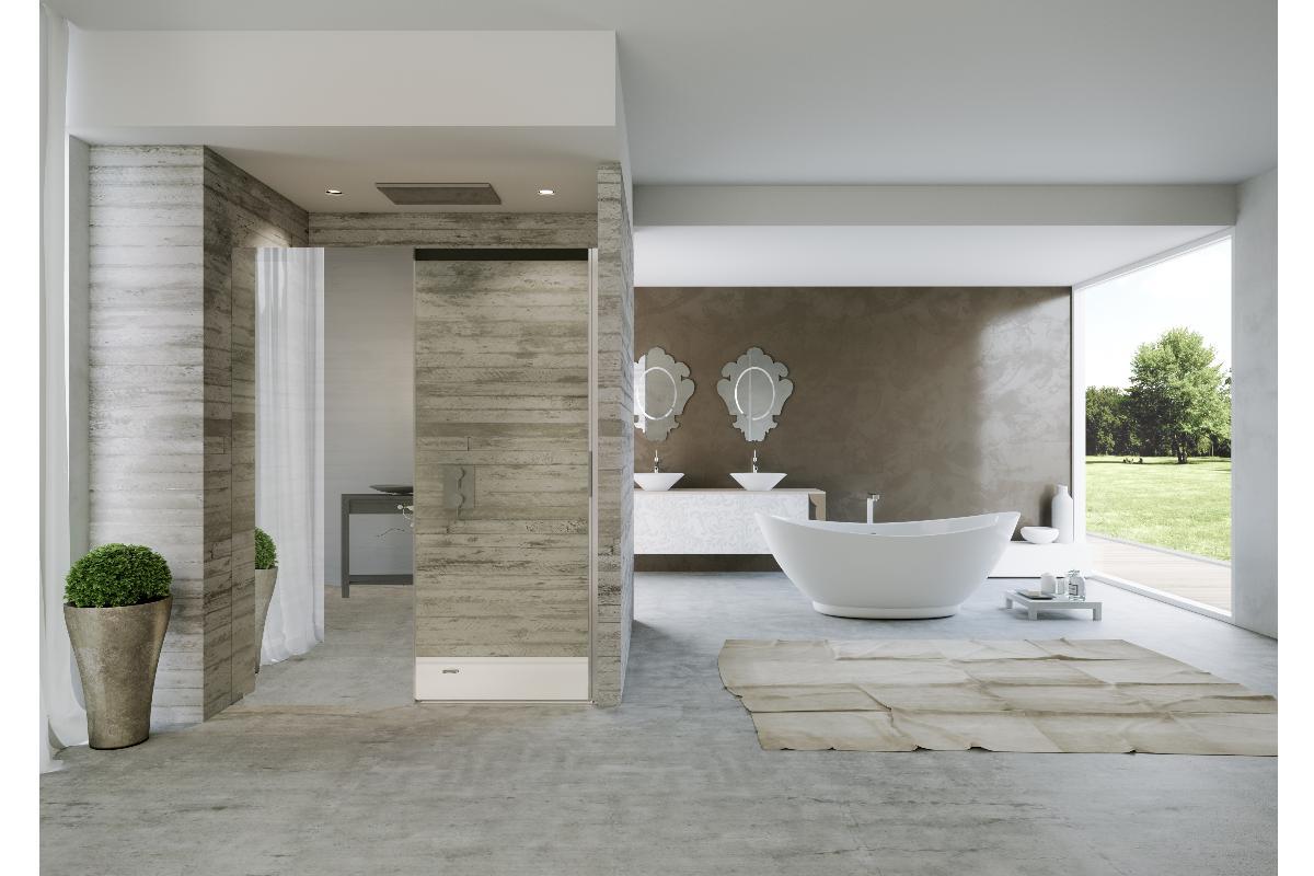 cabinas de ducha en un juego de innovacin y espejos por duka