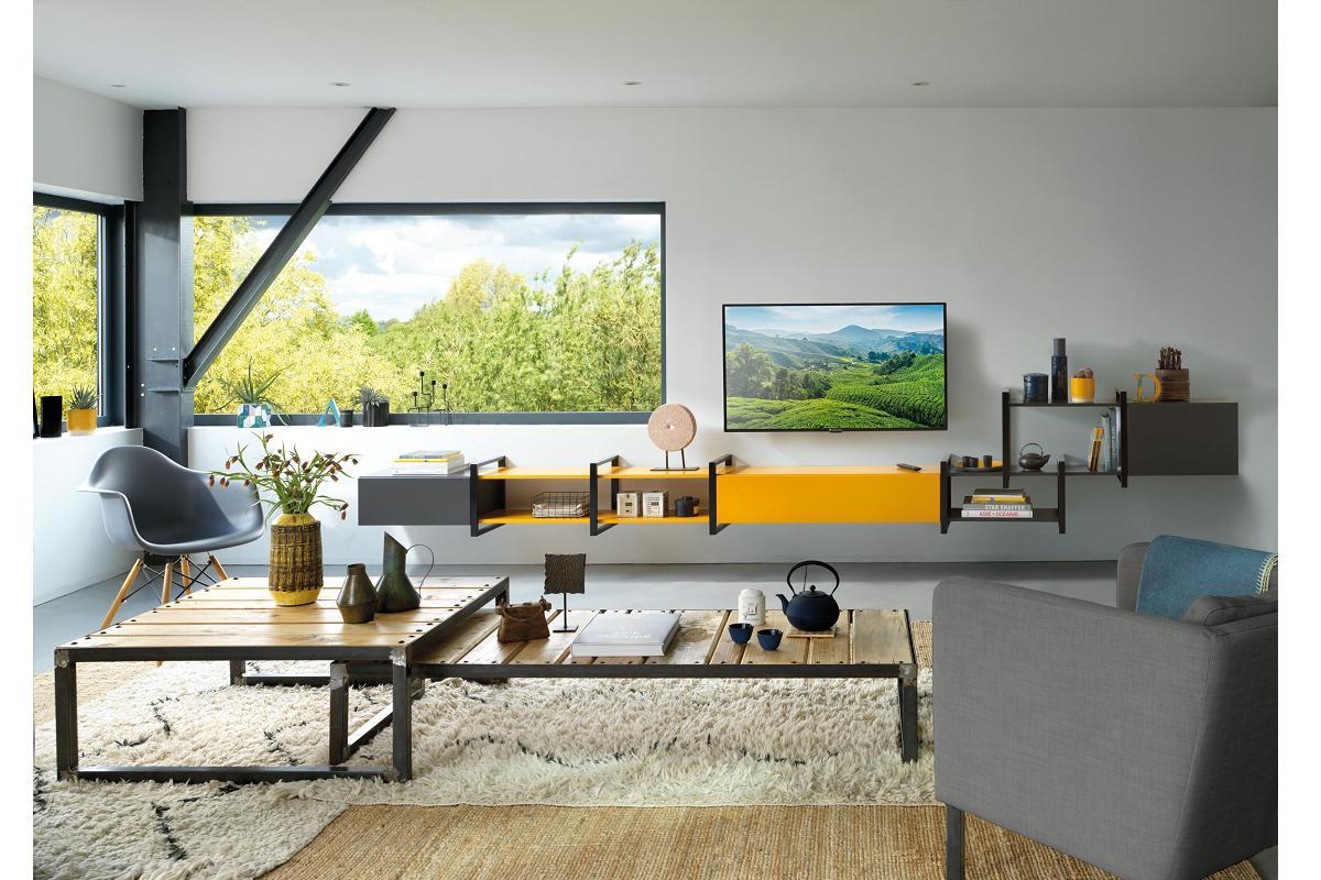 el mobiliario de schmidt aporta color elegancia y funcionalidad al saln