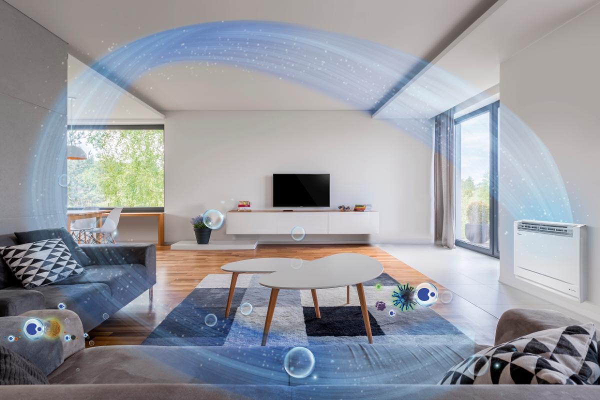 purifica el aire de tu hogar gracias a la nueva consola de suelo de panasonic