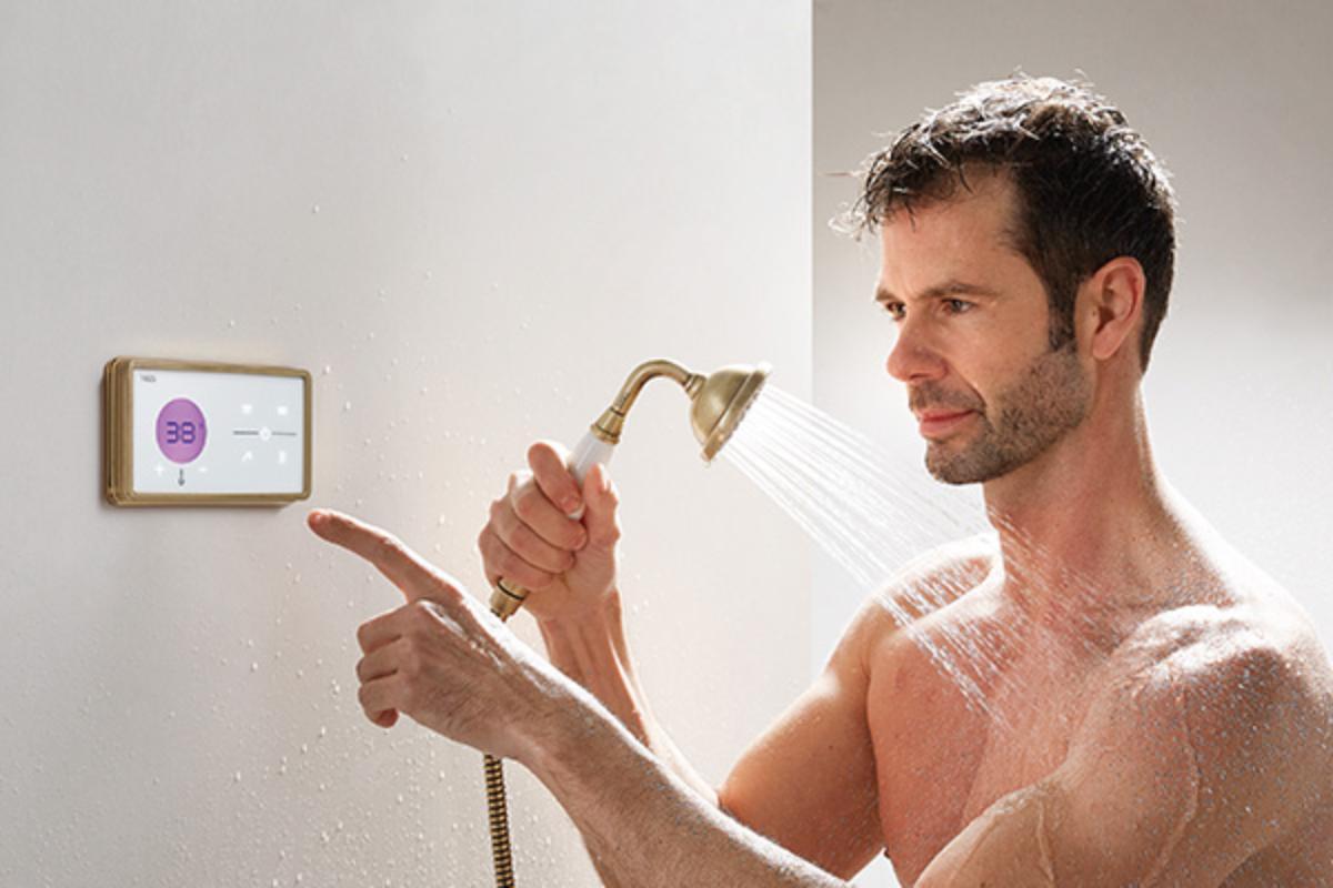 shower technology amp tresclasic tecnologa de esttica vintage para el bao