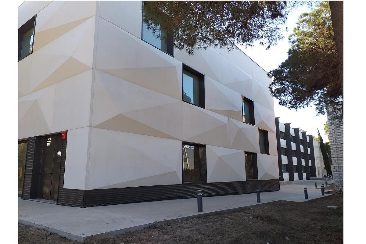bigmat garro colabora en la construccin del nuevo edificio de the british college of gav