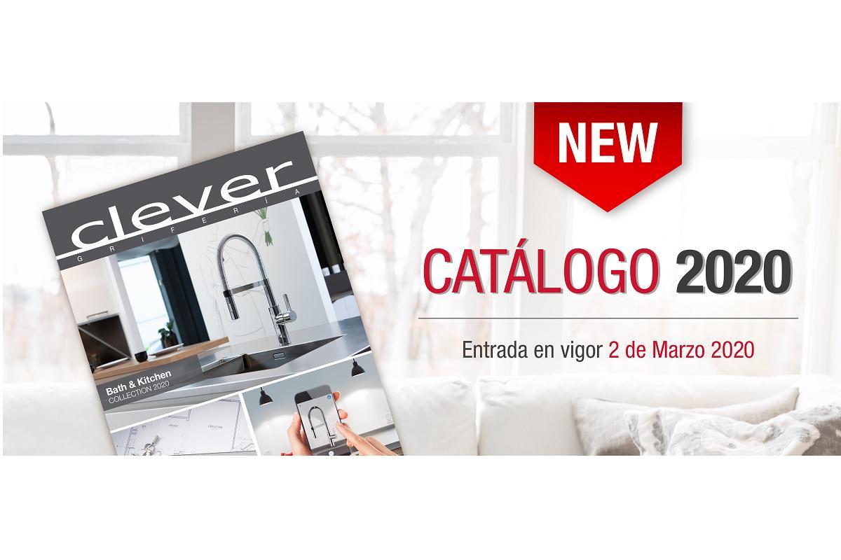 el catlogo de grifera clever para el 2020 disponible a partir del 2 de marzo