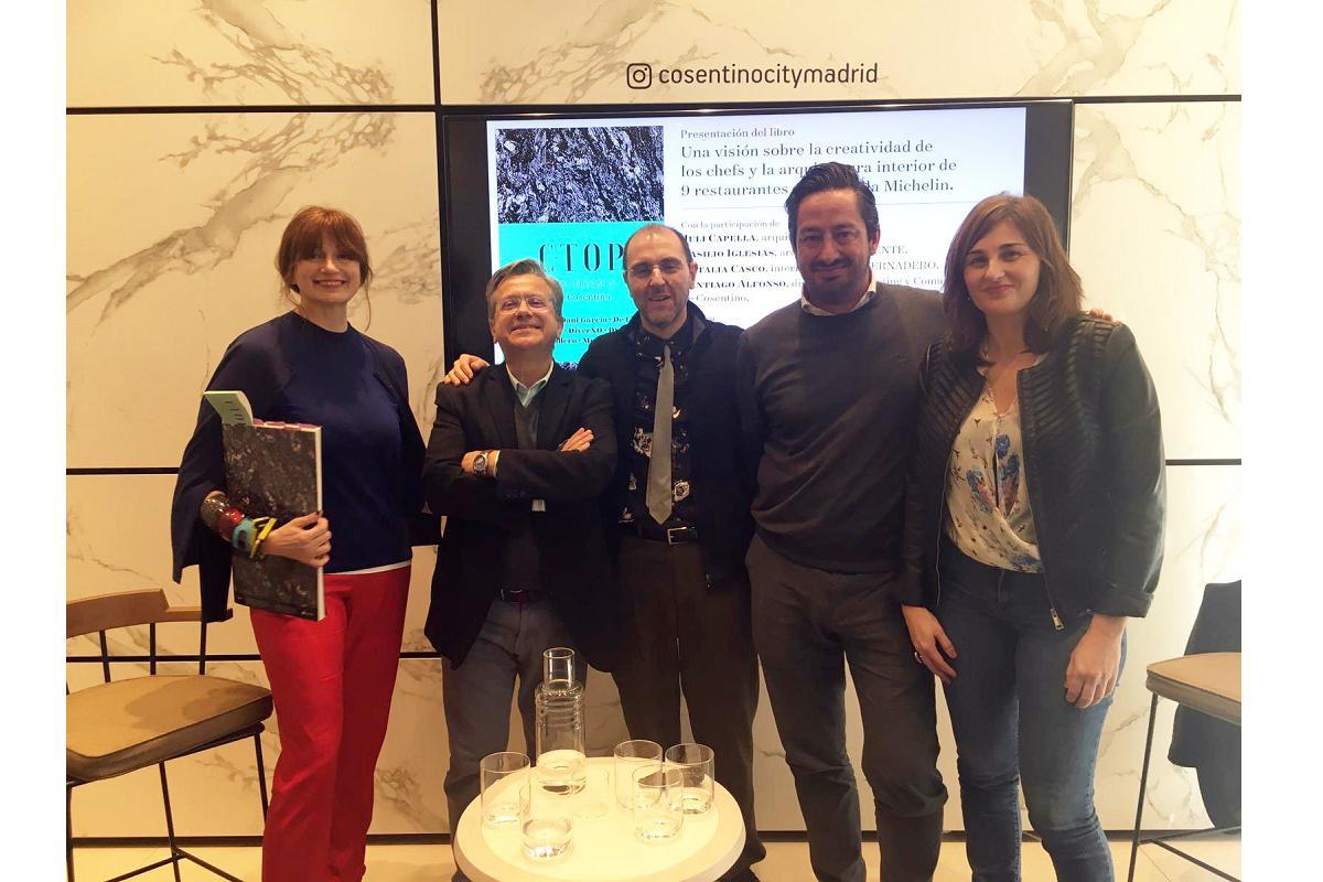 ctop restaurants by cosentino el libro que irradia creatividad en madrid design festival 2020