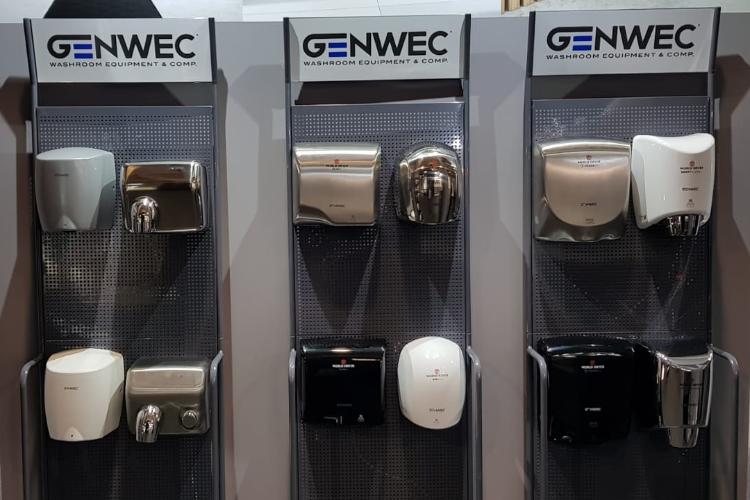 genwec presenta sus novedades en cevisama 2020