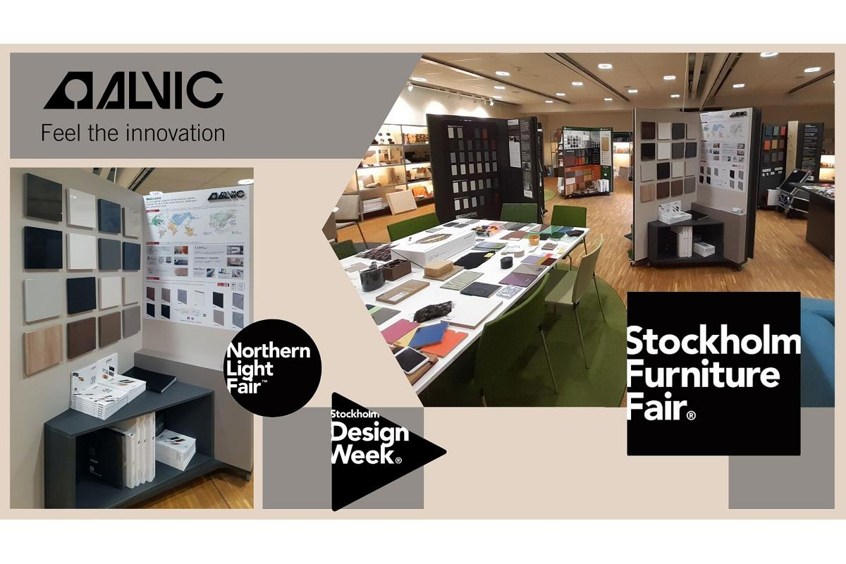 grupo alvic se consolida en el mercado nrdico tras participar en stockholm furniture amp light fair