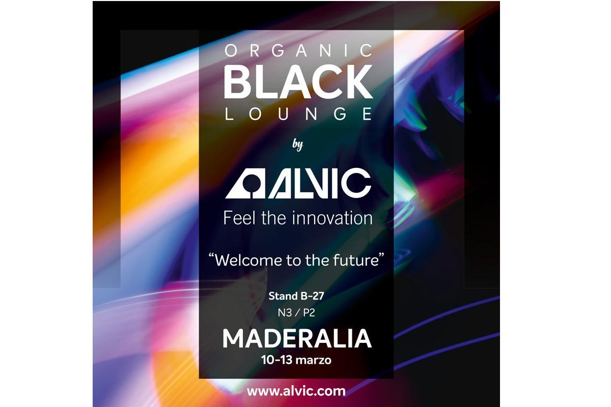 organic black lounge by alvic la revolucin futurista en maderalia 2020
