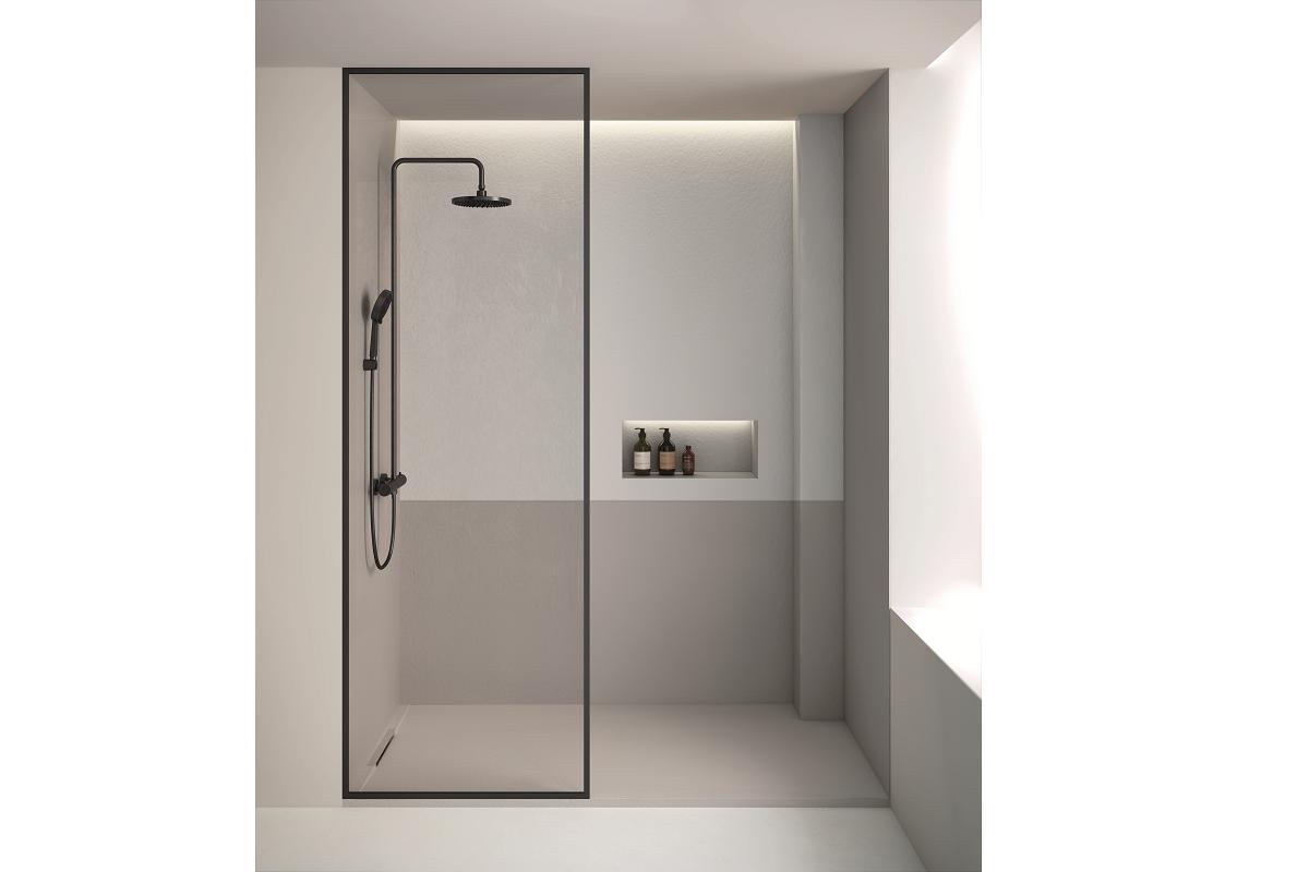 el plato de ducha limite de fiora galardonado con el if design award 2020