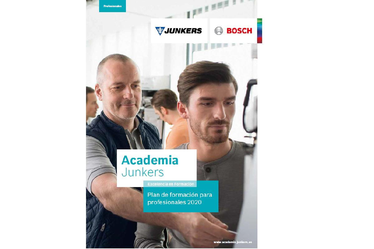 nuevo plan de formacin para profesionales 2020 de junkers con cursos presenciales y online