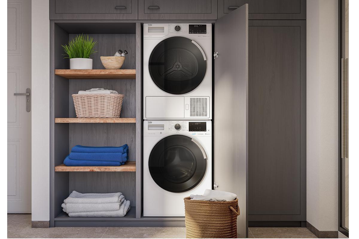beko presenta dhs 7413 pao la secadora de pequeas dimensiones y gran capacidad