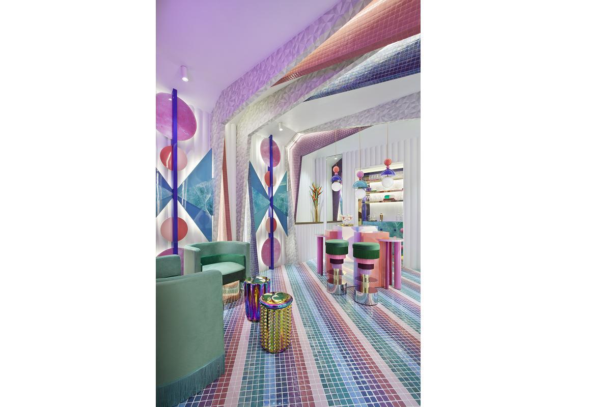 exaltacin del color y diseos a medida el mosaico hisbalit crea tendencia en casa decor 2020