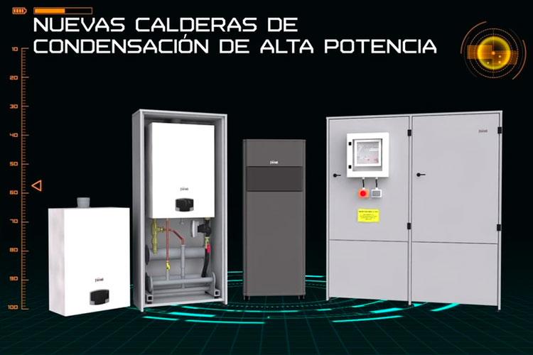 ferroli presenta una nueva gama de calderas de alta potencia