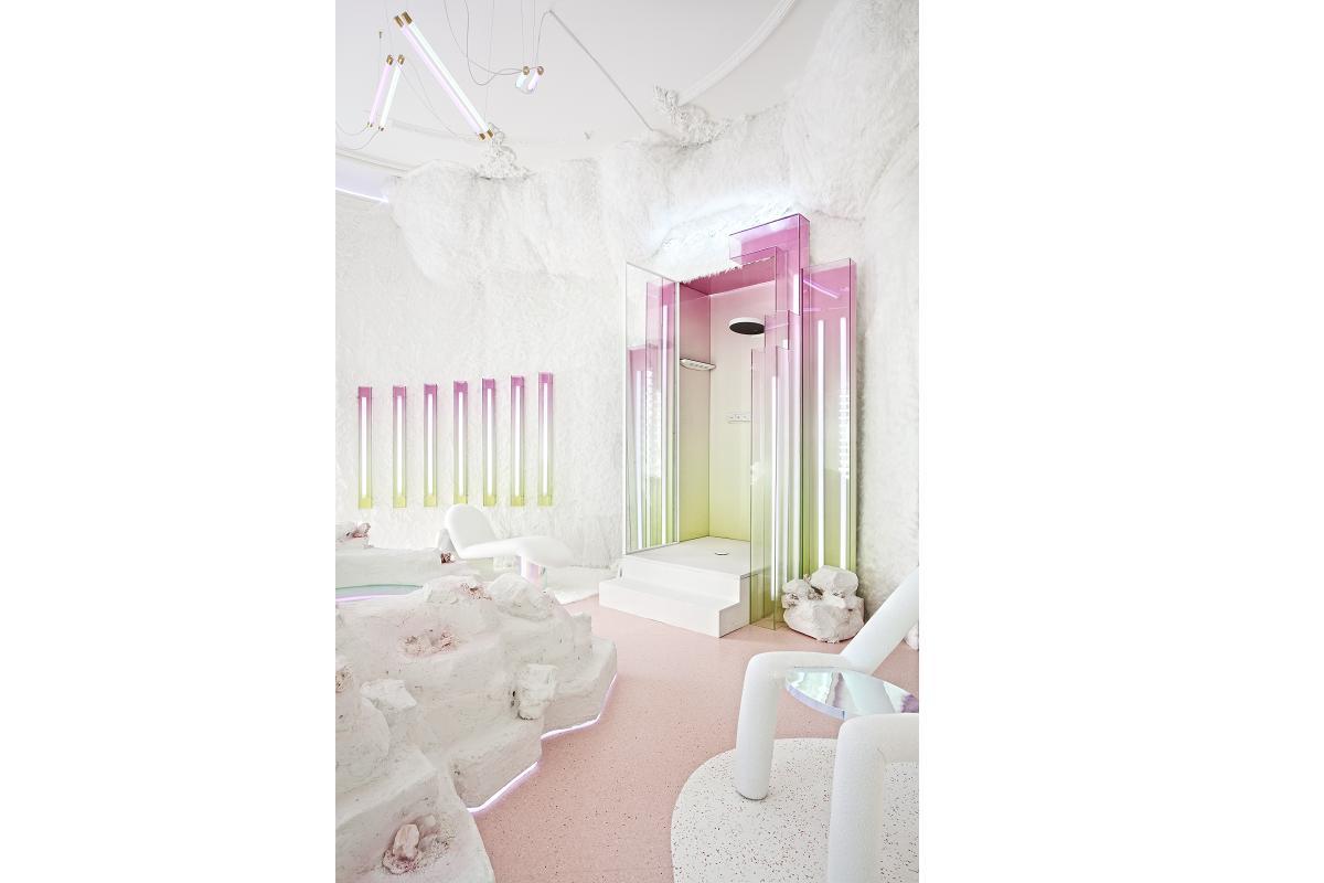 metanoia el templo de bienestar de hansgrohe y patricia bustos en casa decor 2020