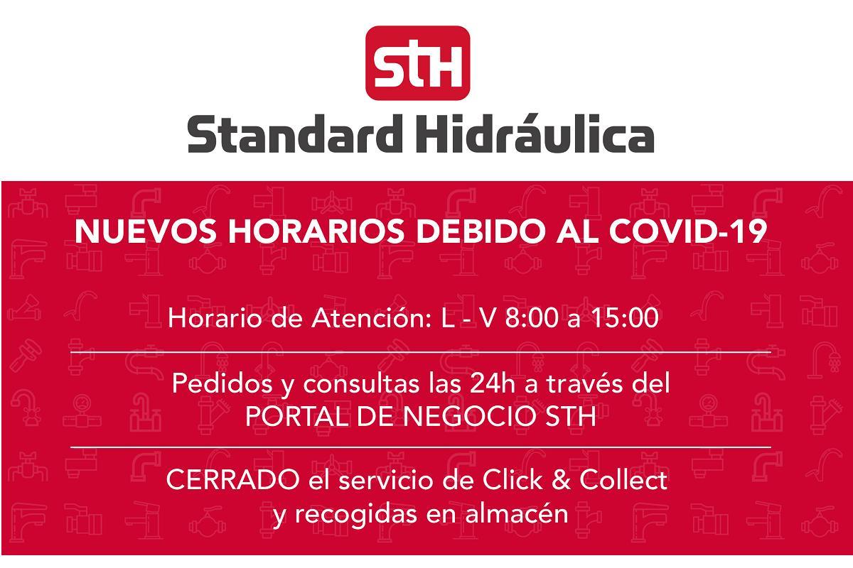 standard hidrulica implanta un nuevo horario ante el coronavirus