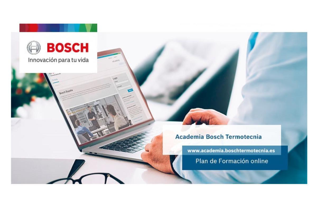 bosch termotecnia apuesta por la formacin online y continua a profesionales