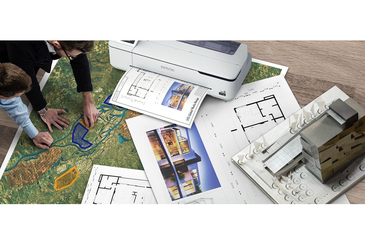 epson lanza una impresora compacta de gran formato para arquitectos y diseadores