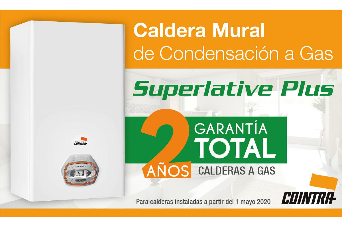 dos aos de garanta total en las calderas a gas superlative plus de cointra