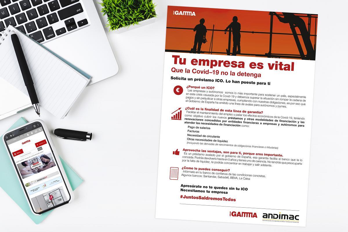grup gamma asesora a sus asociados para paliar el impacto del covid19 en sus negocios