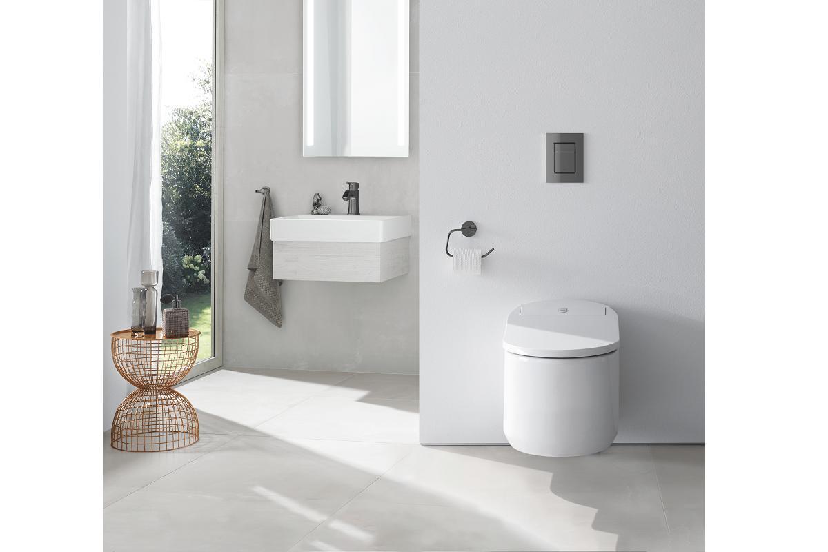 mximo confort e higiene con sensia arena y el asiento bid manual de grohe