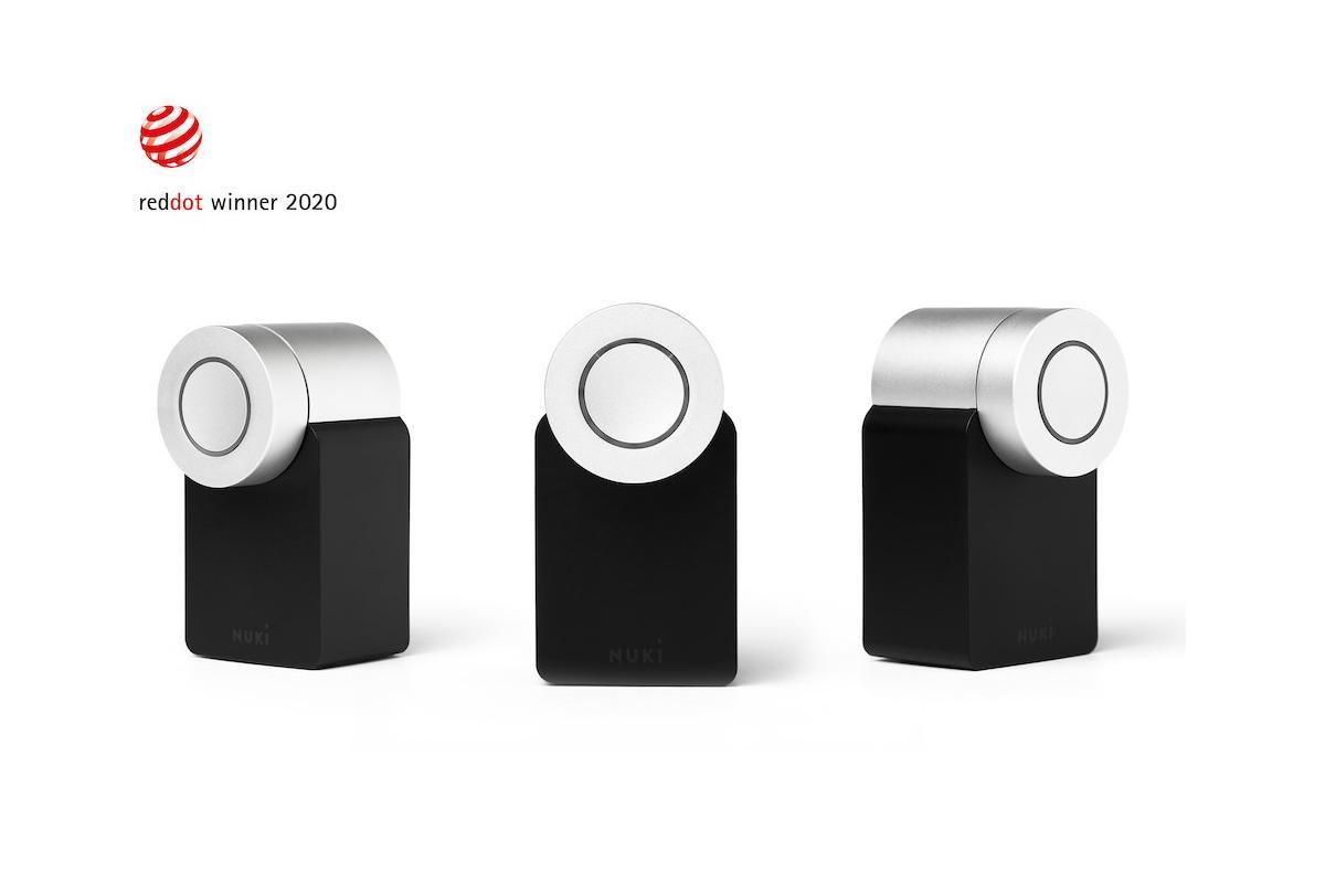 nuki smart lock 20 galardonada con el red dot por su diseo y funcionalidad
