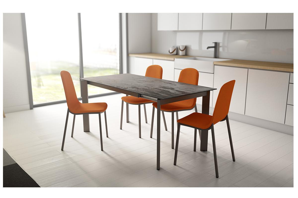 poker de cancio la mesa extensible verstil y minimalista con encimera en dekton
