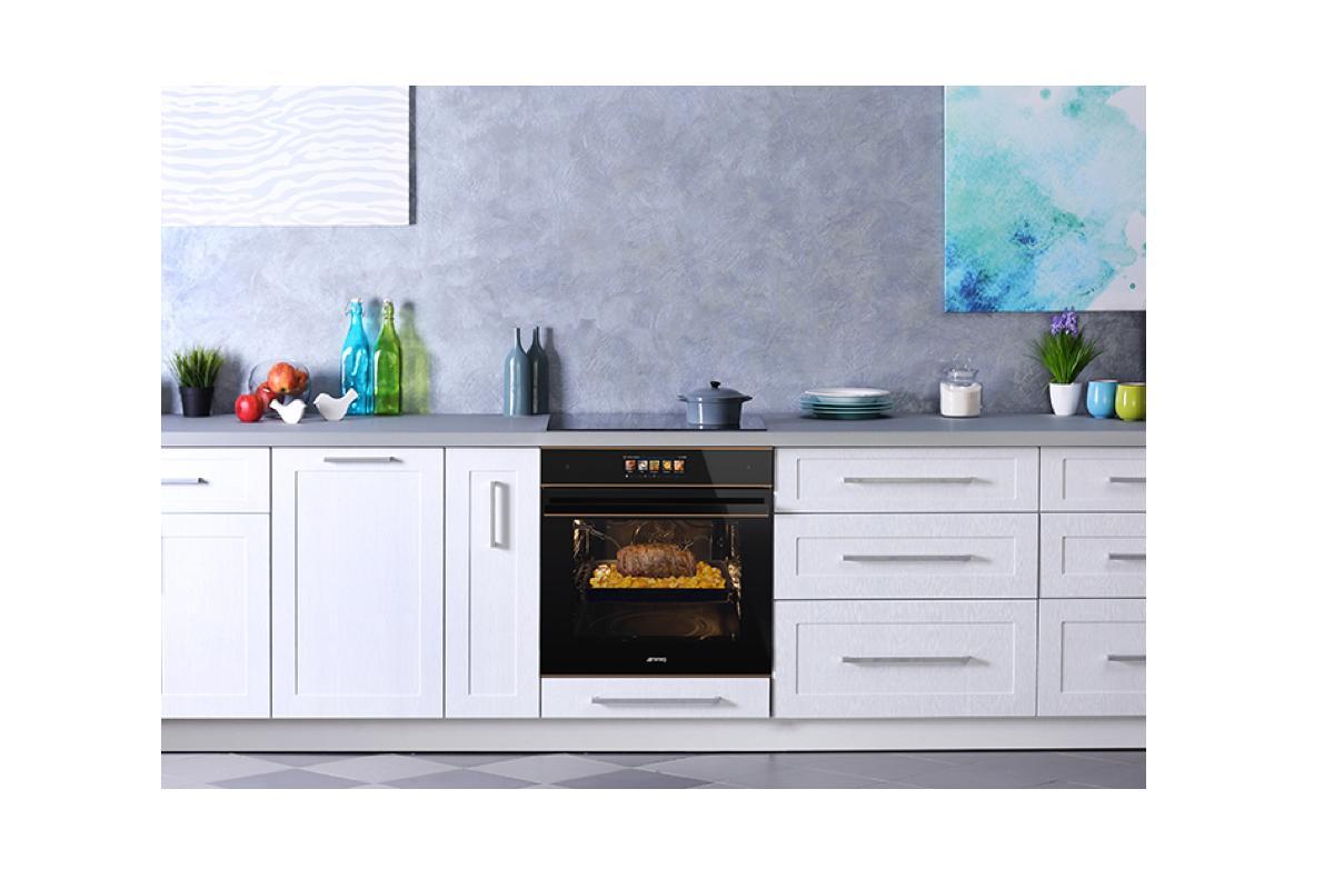 vivoscreen max la pantalla tctil e intuitiva para hornos smeg con recetas incluidas