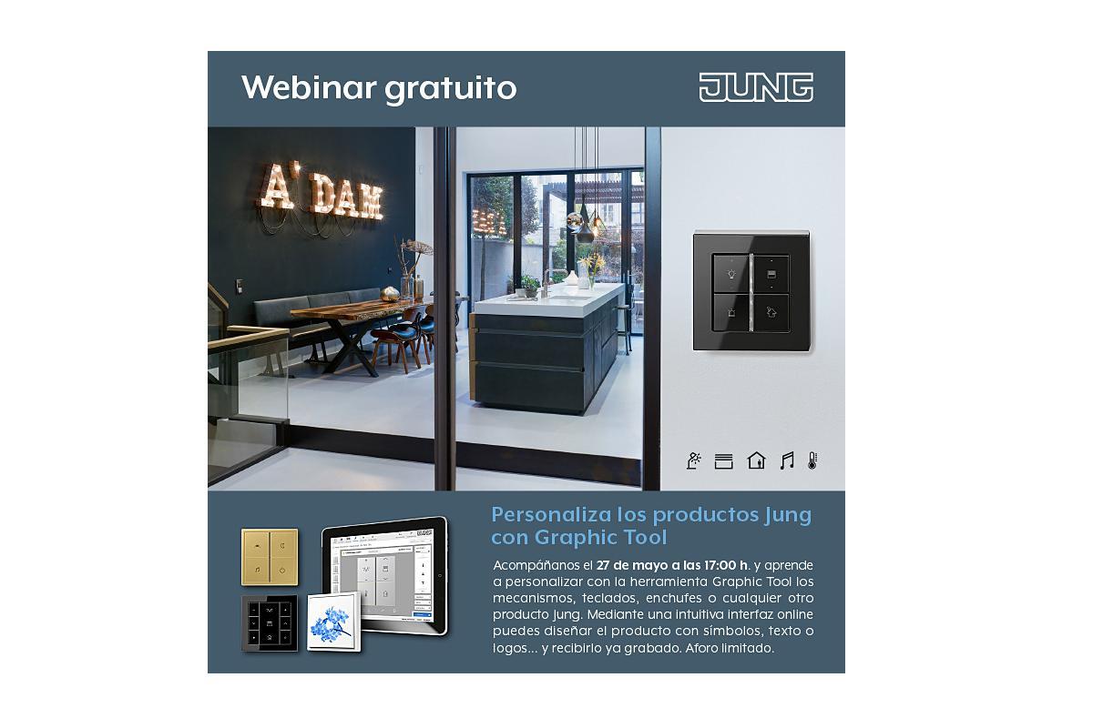 personaliza los productos jung con graphic tool en su nuevo webinar