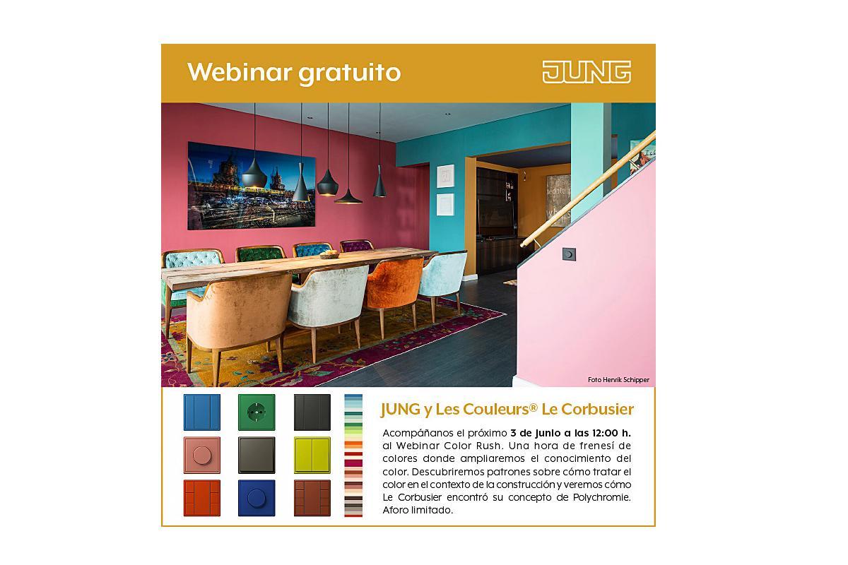 descubre jung y les couleurs le corbusier este mircoles 3 de junio