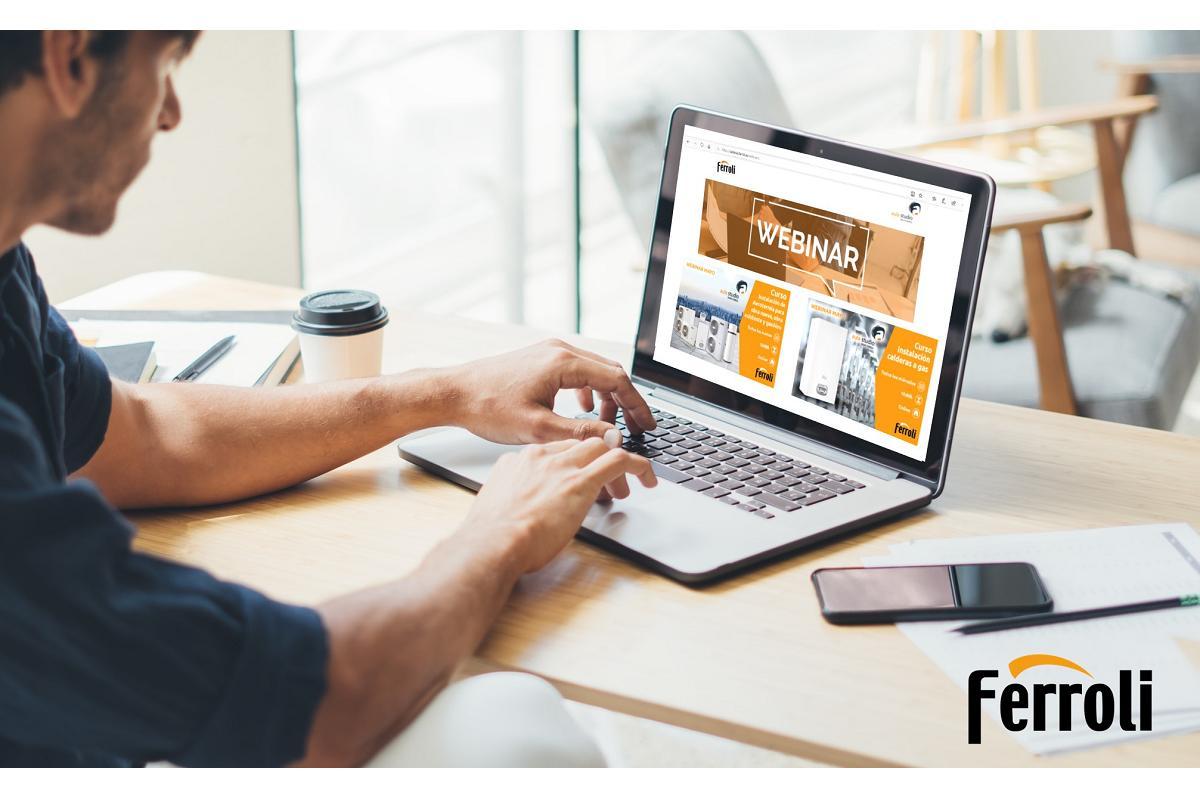 ferroli contina con su plan de formacin 2020 con nuevos cursos online