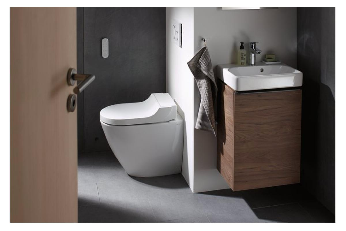 geberit smart toilet 360 inodoro bid con asiento calefactado funcin de secado y antiolor