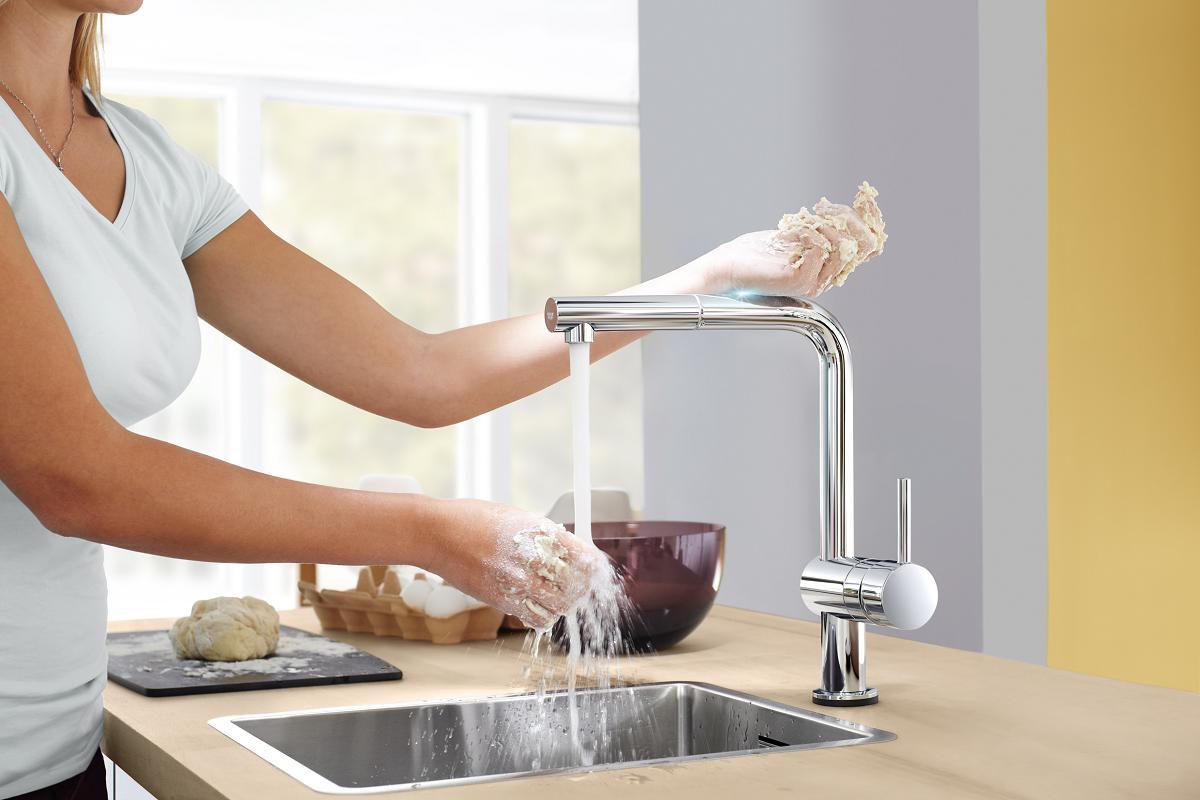grohe ofrece un amplio abanico de soluciones para maximizar la higiene en bao y cocina