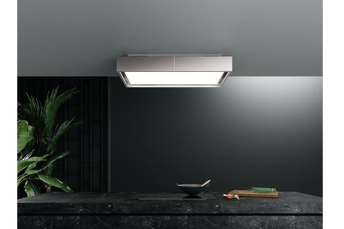 nuevas campanas falmec un techo de aire y luz para la cocina