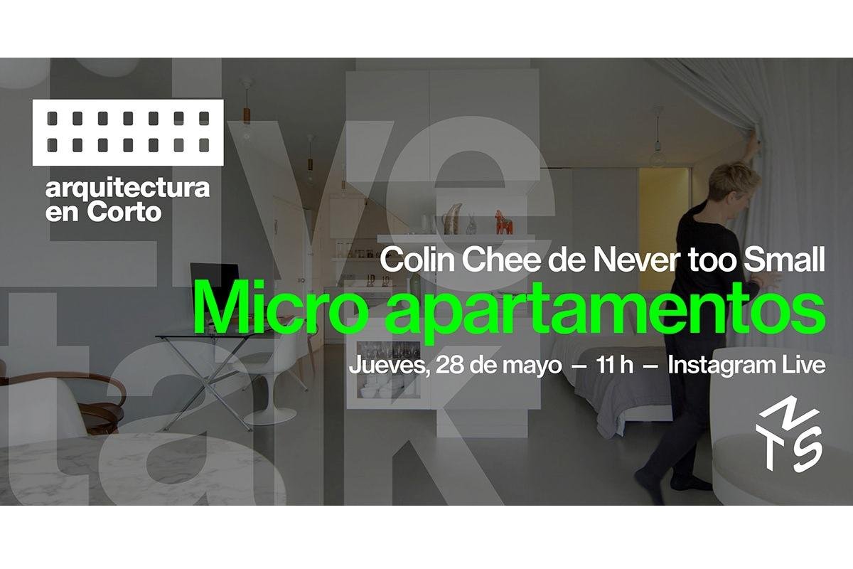 nuevo live talk arquitectura en corto microapartamentos en el mundo