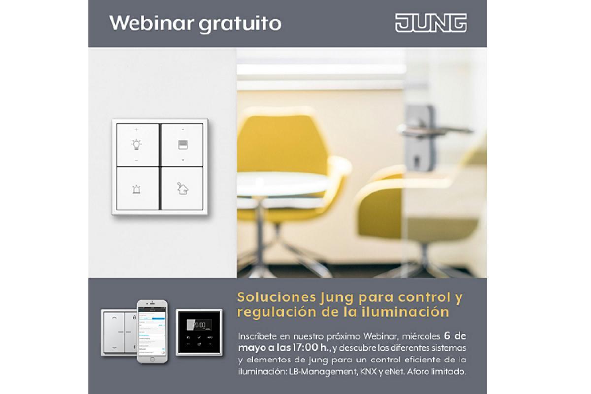 nuevo webinar gratuito soluciones jung para control y regulacin de la iluminacin