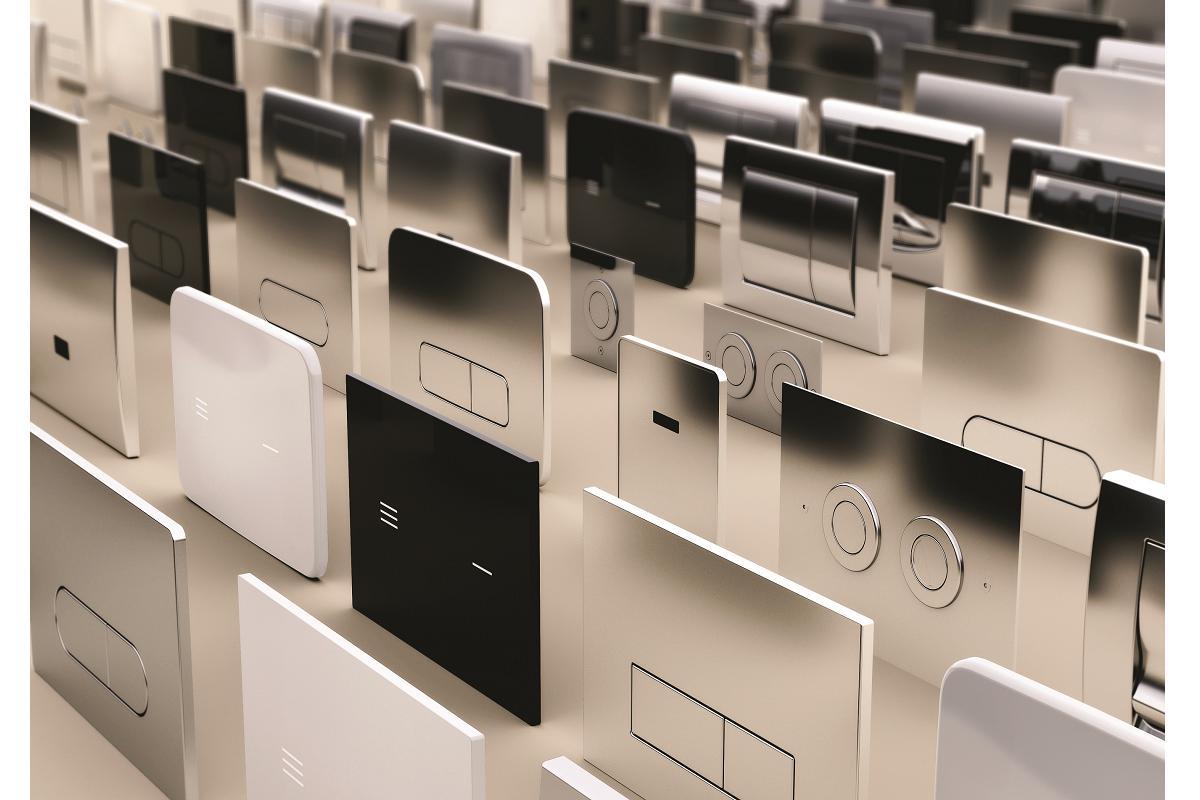 placas pulsadoras nontouch para baos de ideal standard