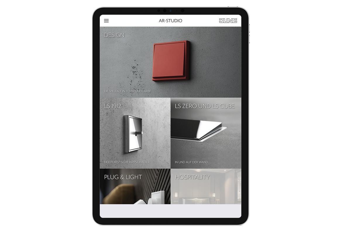 jung lanza la app de realidad aumentada arstudio para el diseo de interiores