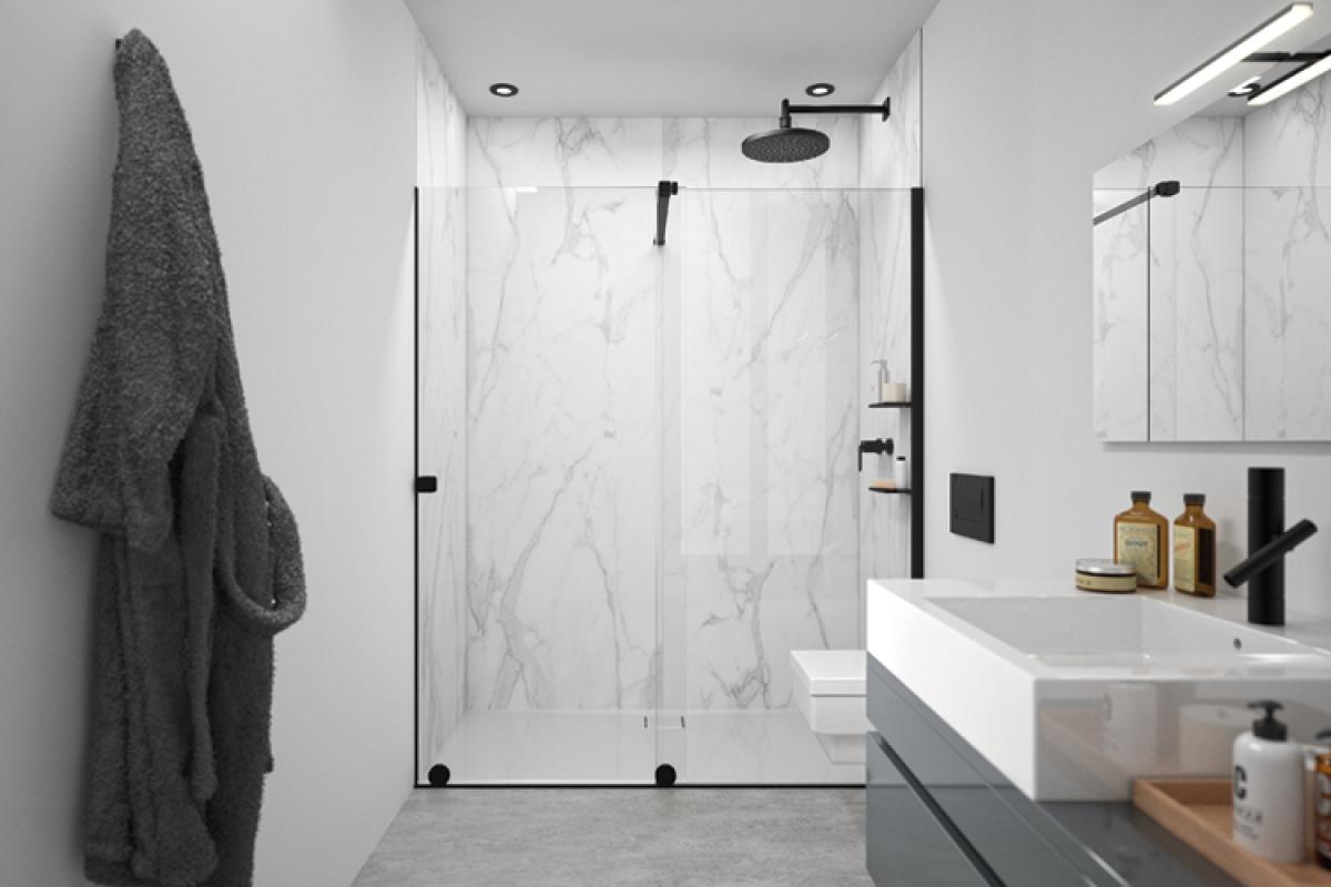 mamparas de ducha el complemento perfecto para aprovechar el espacio