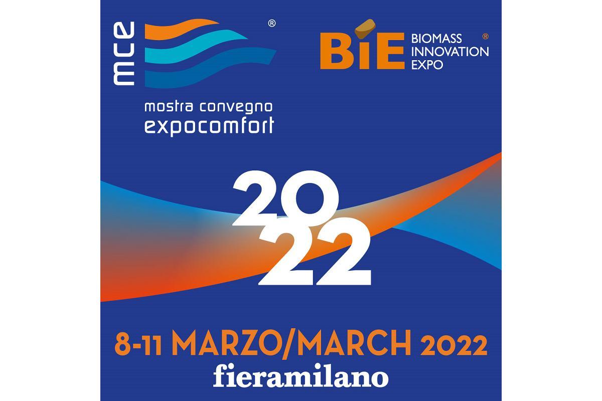 mostra convegno expocomfort y biomass innovation expo se trasladan a 2022