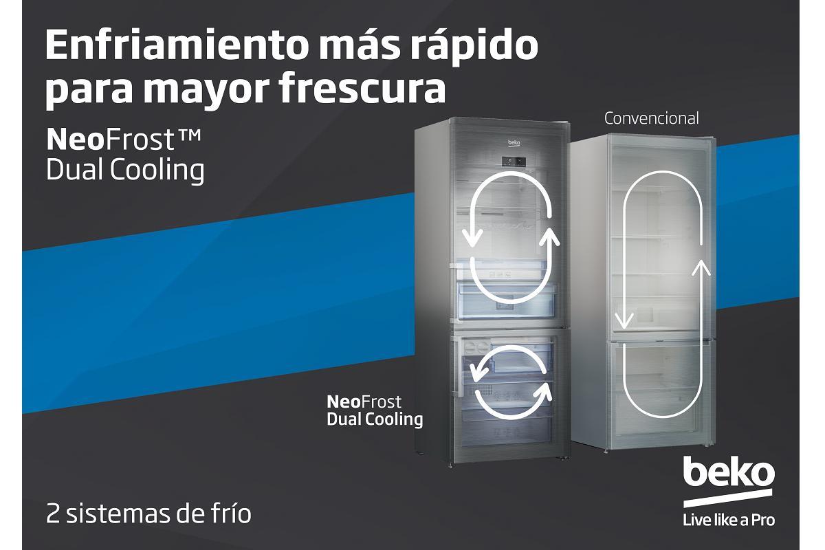 neofrost dual cooling la apuesta tecnolgica de beko de cara al verano