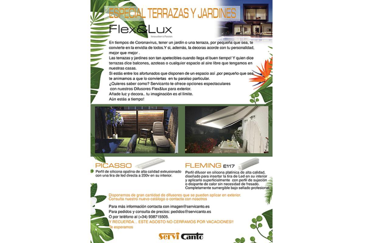 adntrate en el especial de terrazas y jardines de servicanto