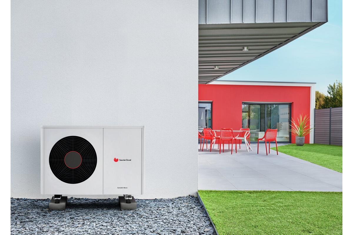 genia air max nuevo sistema compacto con refrigerante natural de saunier duval
