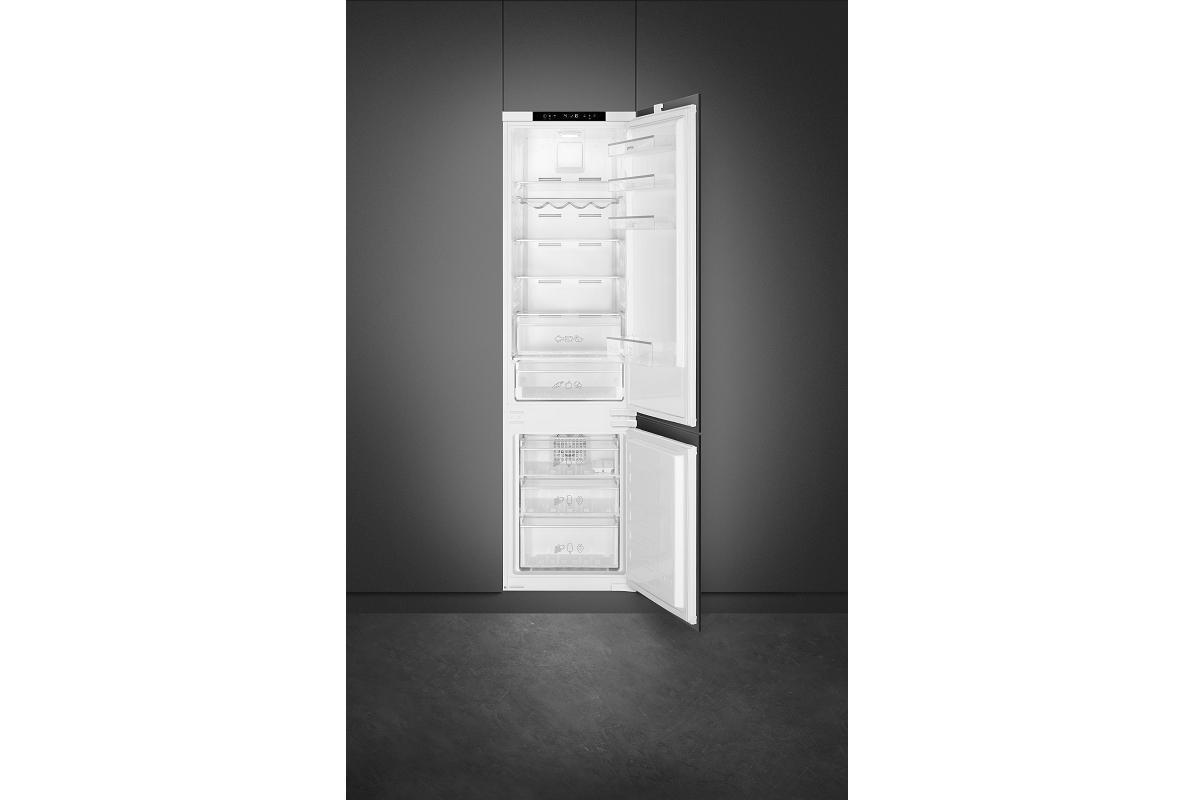 smeg c8194tn2p el frigorfico integrable con eficacia oculta