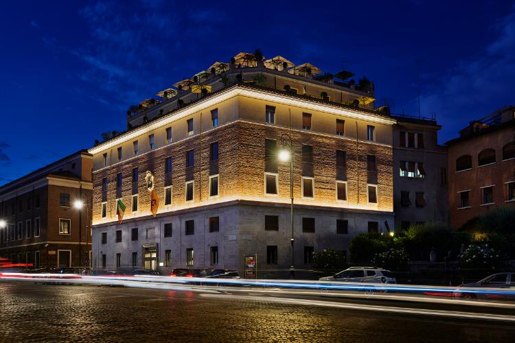 Linea Light Group llena de creatividad lumínica al 47 Boutique Hotel de Roma