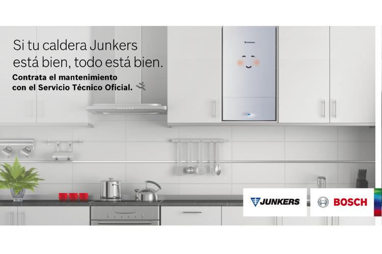 Junkers Bosch aconseja hacer el mantenimiento con el Servicio Técnico Oficial