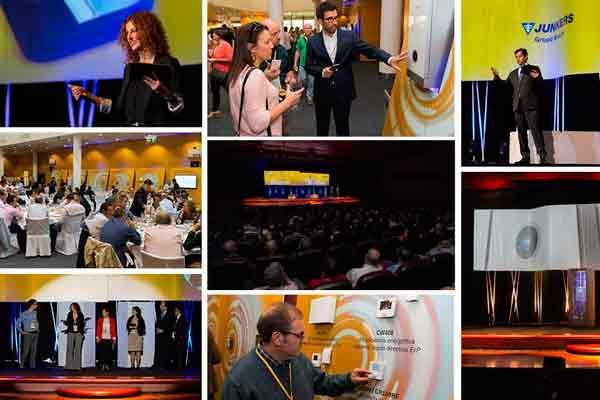 mas de 4000 profesionales de toda espana participaron en la gira junkers 2015
