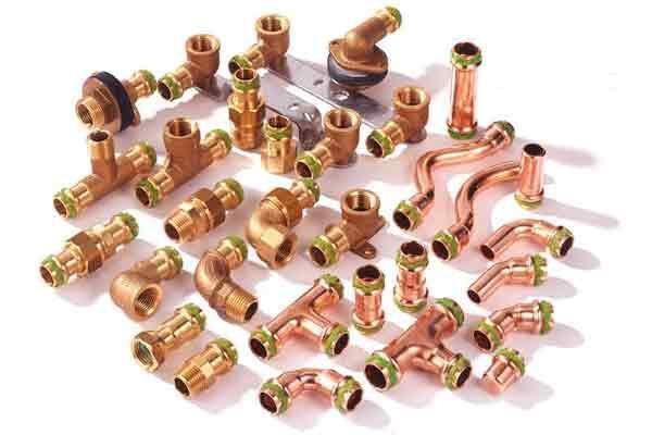 accesorios a prensar para tubos de cobre de standard hidrulica